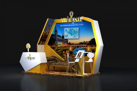 Sản xuất, thi công booth quảng cáo