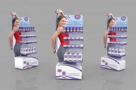 Kệ trưng bày sản phẩm beauty care